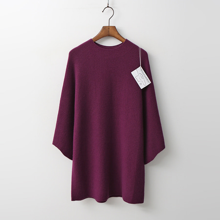 Laine Cashmere N Wool Wing Sweater - 9부소매