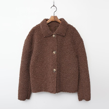 Faux Mouton Short Coat