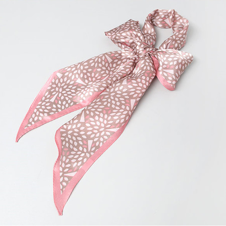 Silk Maple Long Scarf
