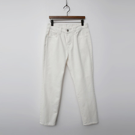 Joey Mid-Rise Straight Leg Jeans