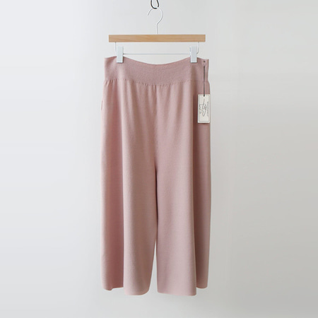 Maille Wool Cashmere Culottes Pants