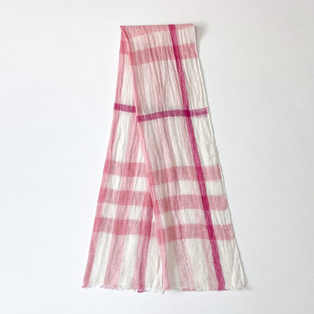 Linen Right Scarf
