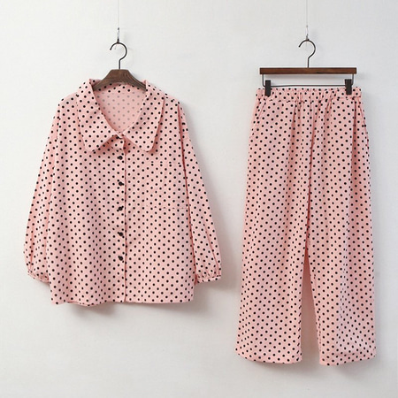 Dot Pajama Set