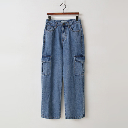 Cargo Wide Jeans