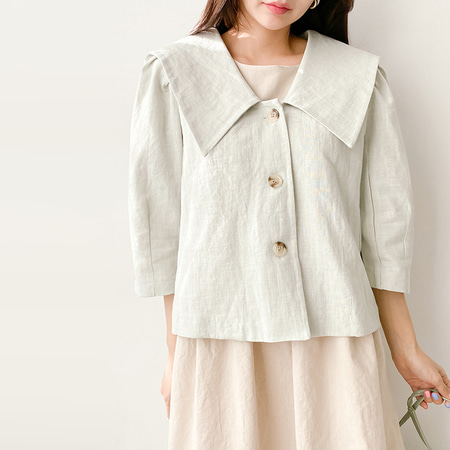 Linen Bio Sailor Jacket