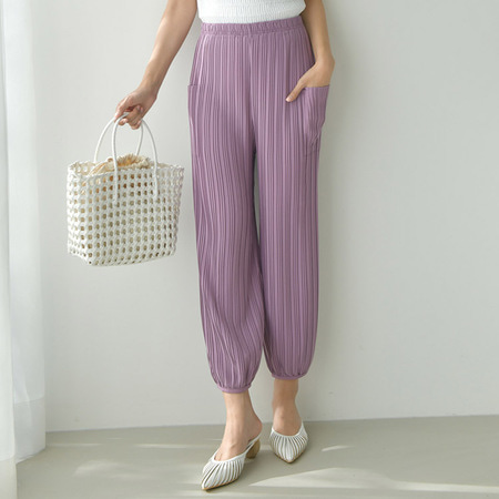Pleats Pocket Jogger Pants