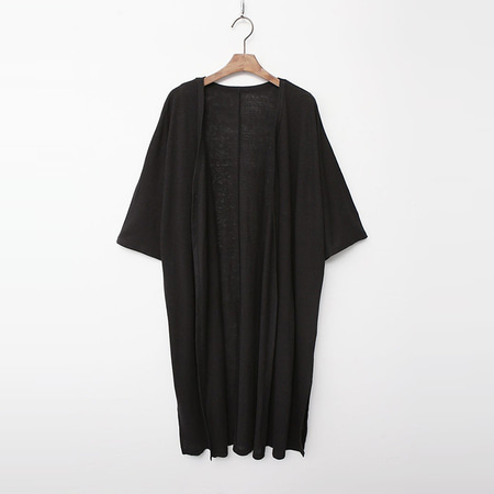 Linen Cotton Long Robe Cardigan
