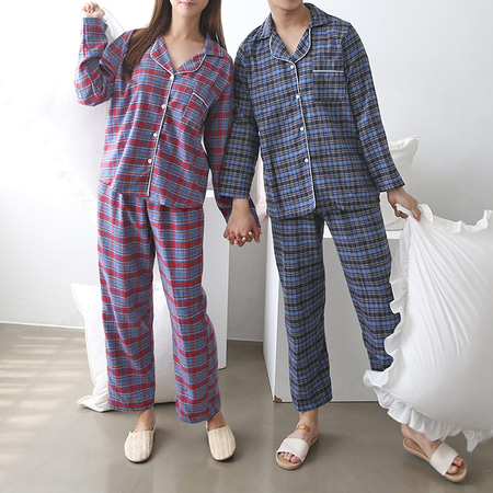 Gimo Two Pajama Set - 커플룩